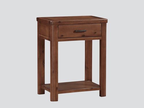 Andorra Acacia Console Table 1 Drawer