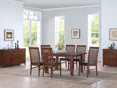 Andorra Acacia 165cm Extending Dining Set