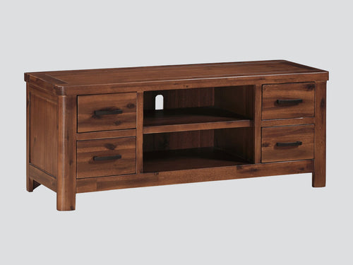 Andorra Acacia Straight TV Unit
