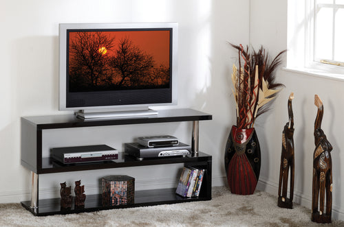 Charisma TV Stand in Black