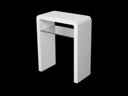 Clarus Small Console Table in White