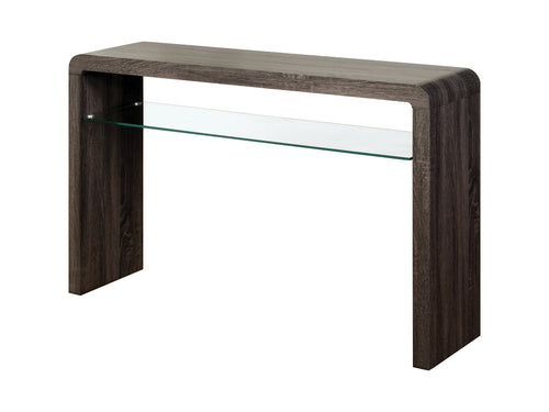 Encore Large Console Table in Charcoal