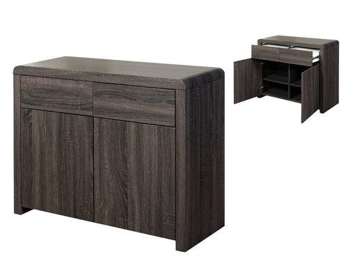 Encore 2 Door Sideboard in Charcoal