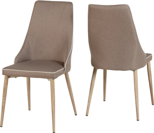 Finley Dining Chair in Beige