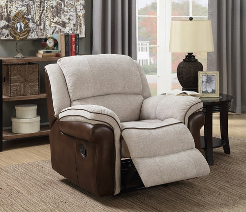 Farnham Fusion Chair in Mink & Tan