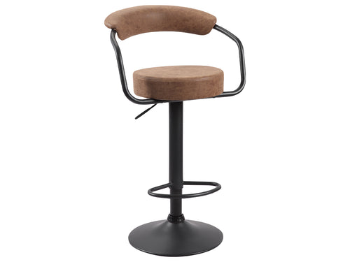 Hanna Bar Stool in Brown