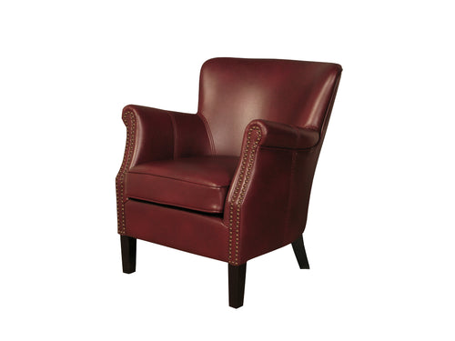 Harlow Chair in Burgundy