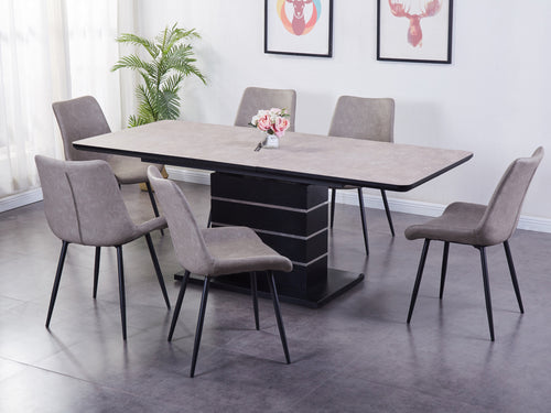 Imperia Light Extending Dining Set