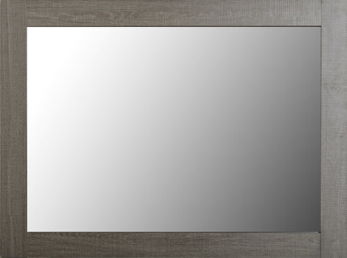 Lisbon Mirror in Black Wood Grain