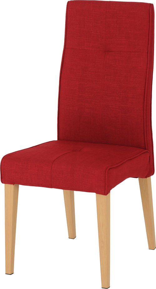 Lucas Dining Chair in Red
