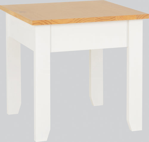 Ludlow Lamp Table in White Oak