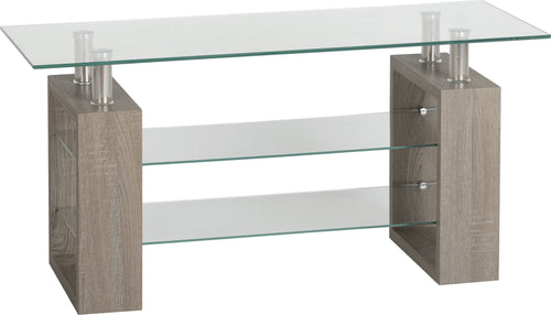 Milan TV Unit in Light Charcoal