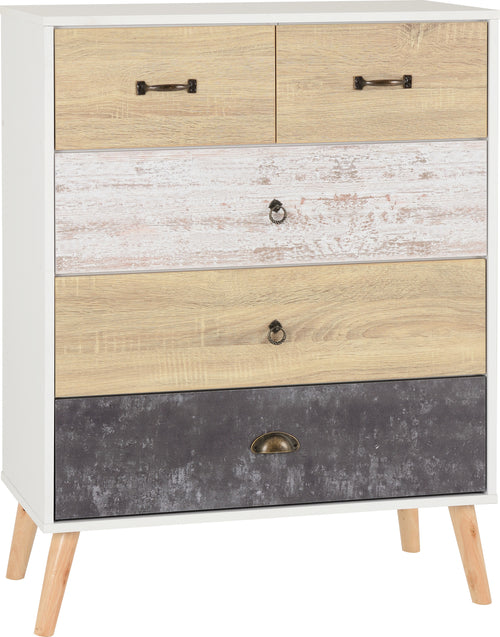 Nordic 3 Plus 2 Drawer Chest
