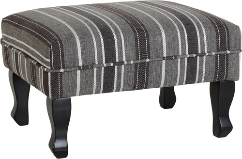 Sherborne Footstool in Grey