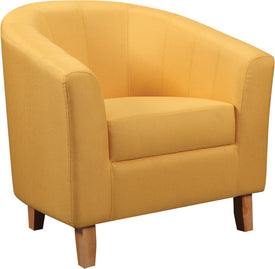 Tempo Tub Chair in Mustard