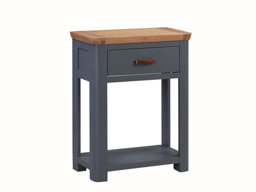 Treviso Midnight Blue Small Console Table