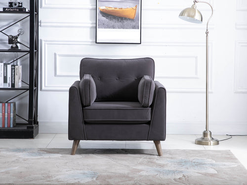 Zurich Chair in Elephant Grey