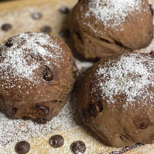 Chocolate Sourdough Rolls by Masterpiece Bread
