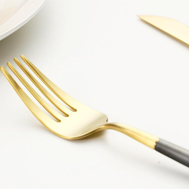 flatware Ada Gold Dipped Flatware Homeplistic
