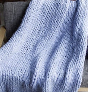 Throw Chunky Knitted Blanket Homeplistic