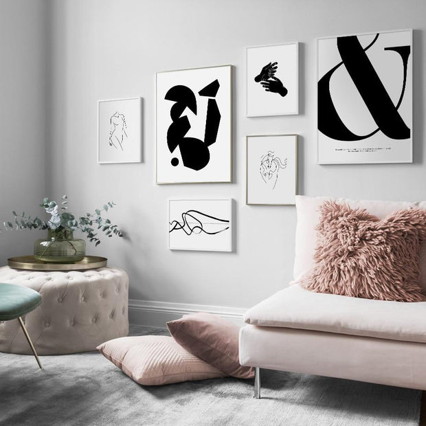 Wall Art Floating Figures Canvas Prints Homeplistic