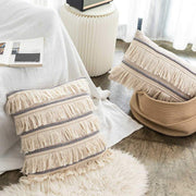 Pillow Fringe Tassel Pillow Homeplistic
