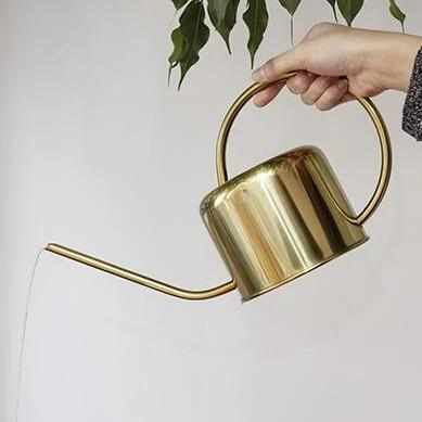 Watering Can Golden Vintage-Inspired Watering Can Homeplistic