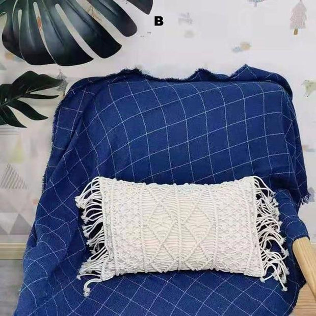 Pillows Macrame Fringe Pillow Homeplistic