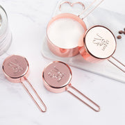 Kitchen Tools Marilyn Rose Gold Measuring Cups Homeplistic