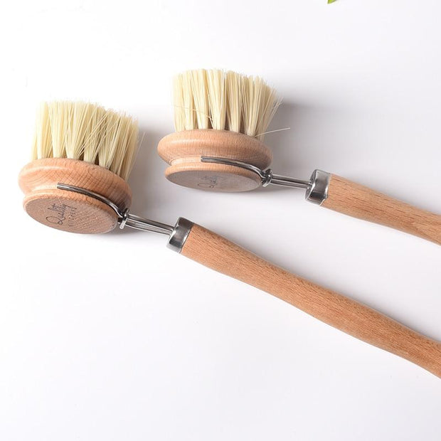 Dish Brush Natural Wood Dish Brush Homeplistic