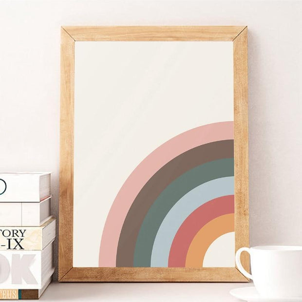 Canvas Prints Sunny Rainbows Canvas Prints Homeplistic