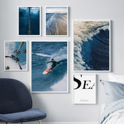 Canvas Prints West Coast Surf Canvas Prints Homeplistic