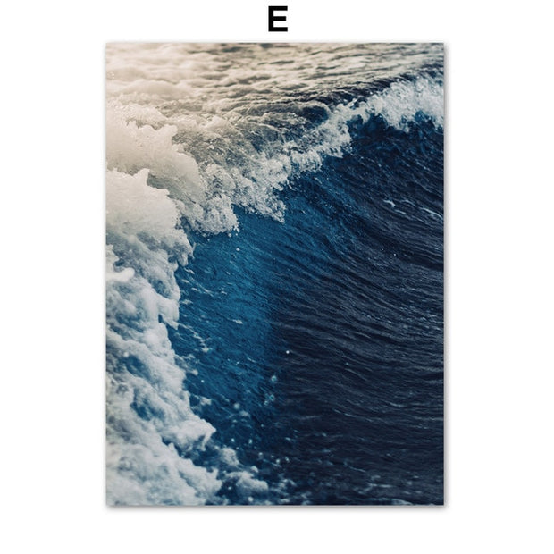 West Coast Surf Canvas Prints - Homeplistic