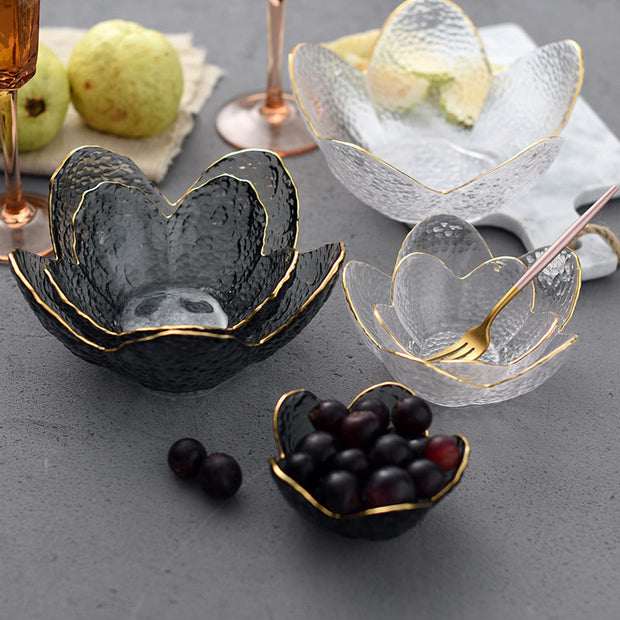 Freesia Glass Bowls - Homeplistic