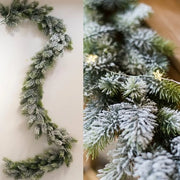 Snow-Kissed Holiday Garland