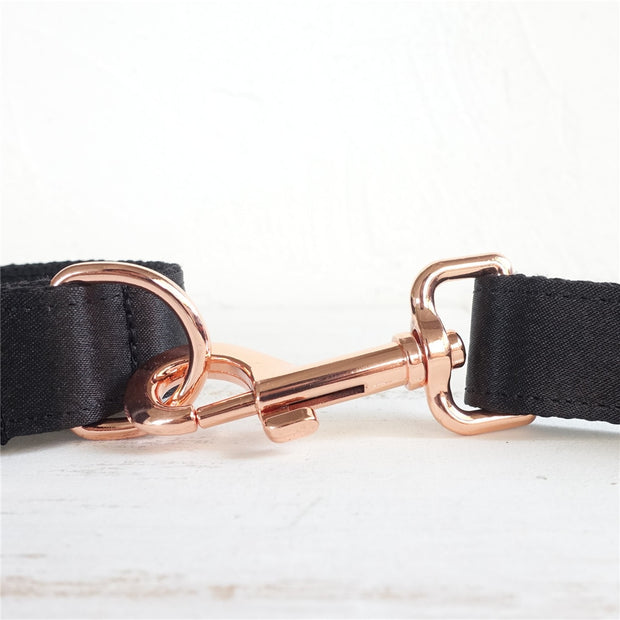 Rose Gold Personalized Collar & Set