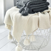 Noelle Cozy Knit Throw - Homeplistic