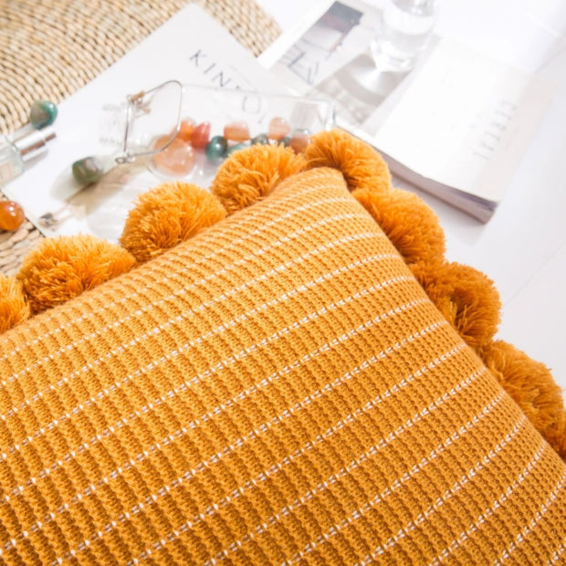 Posie Pom Pom Pillows