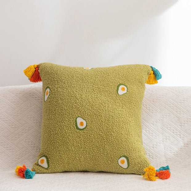 Playful Prints Sherpa Pillows