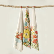 Marie Floral Tea Towel Set