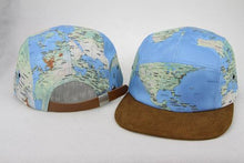 Load image into Gallery viewer, World Map Cap Hat