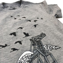 Load image into Gallery viewer, Kids' Heather Grey Oakland Crane Tee