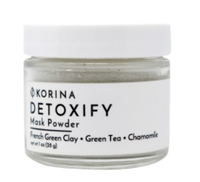 French Green Clay Mask Powder – Detoxify