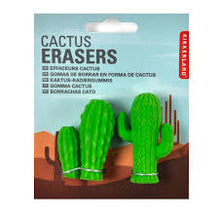 Load image into Gallery viewer, Cactus Erasers- Pack of 2