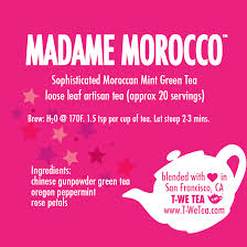 Madame Morocco - Green Tea