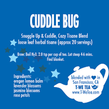 Load image into Gallery viewer, Cuddle Bug - Herbal Tisane