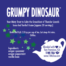 Load image into Gallery viewer, Grumpy Dinosaur - Herbal Tisane