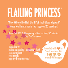 Load image into Gallery viewer, Flailing Princess - Black Tea
