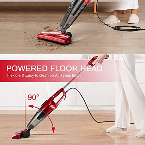 15KPA Lightweight Quiet Corded Stick Vacuum ST600