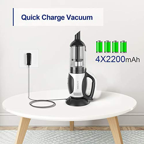 APOSEN 120w Quick Charge Handheld Cordless Vacuum Cleaner H204